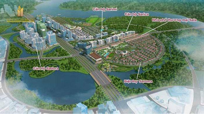 dự án khu đô thị sala