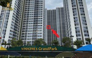 Bán Căn 1PN+ S5.01 Vinhomes Grand Park View Trực Diện CV Cầu Vồng
