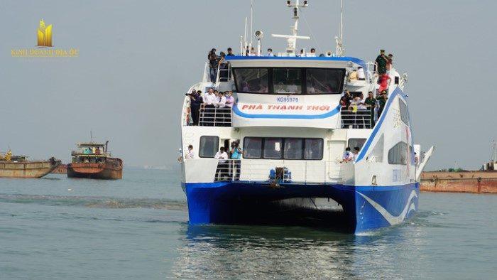 Phà biển Cần Giờ - Vũng Tàu