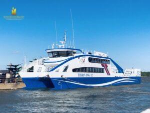 Tuyến Phà Biển Cần Giờ – Vũng Tàu Chính Thức Được Đi Vào Hoạt Động