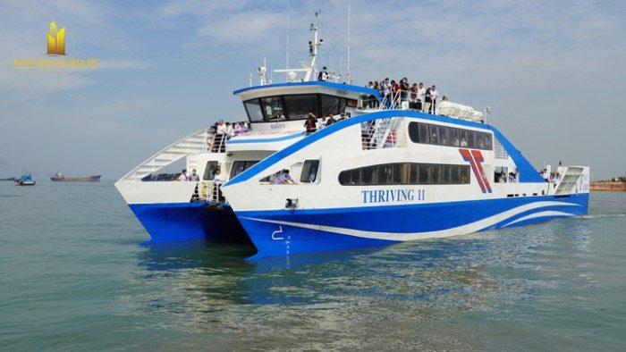 Tuyến phà biển Cần Giờ - Vũng Tàu