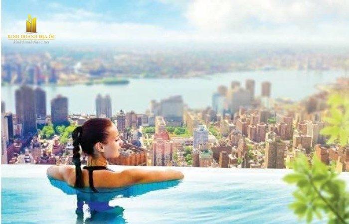 bể bơi tràn bờ độ cao 120m