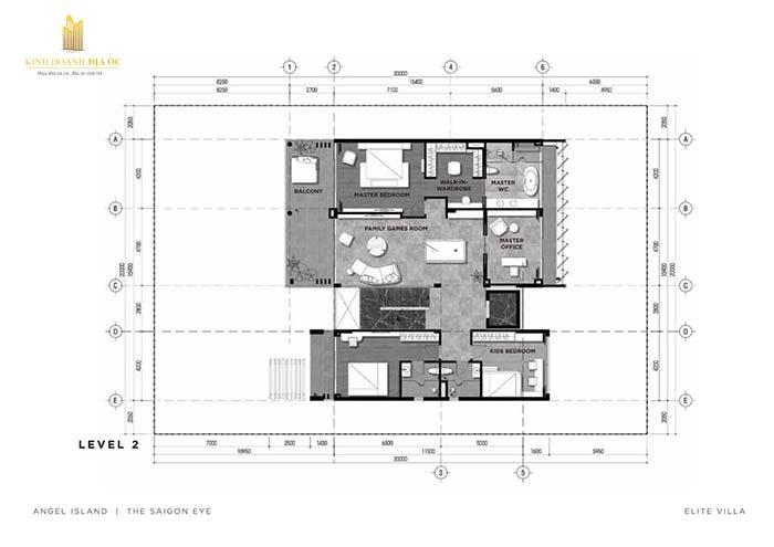 thiết kế biệt thự Elite - Angel Island