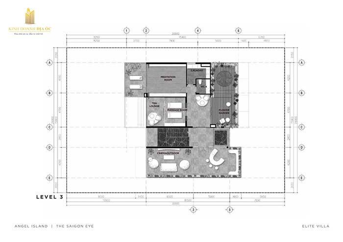 thiết kế biệt thự Elite villas - Angel Island level 3