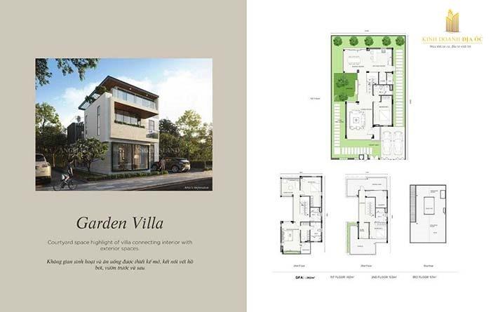 thiết kế biệt thự Garden villas - Angel Island