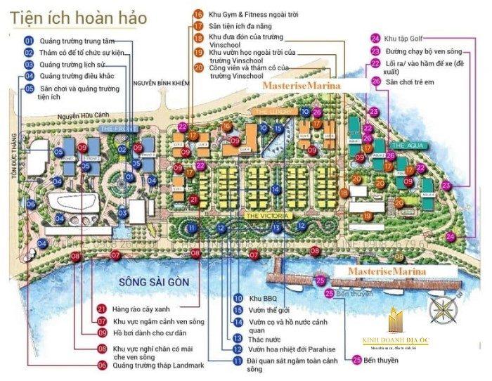 Tiện ích Grand Marina Sài Gòn