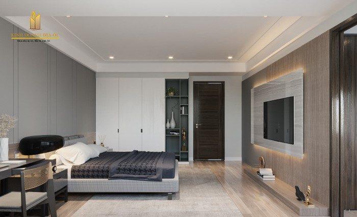 phòng ngủ thiết kế nội thất hiện đại