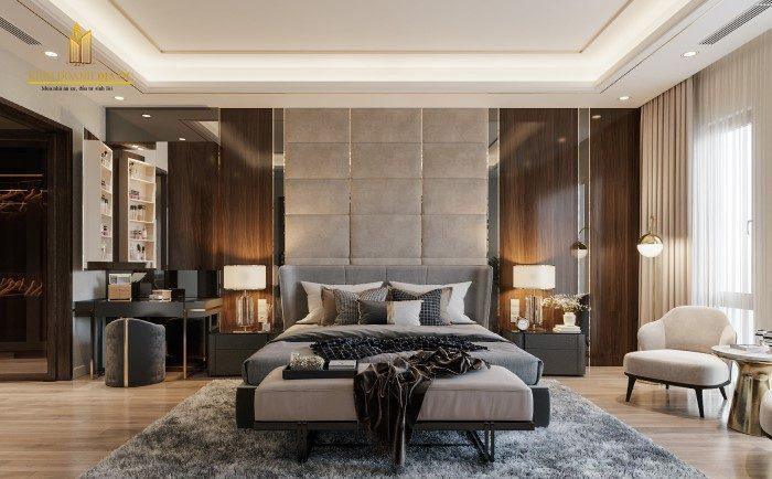 thiết kế phòng khách nội thất đẳng cấp