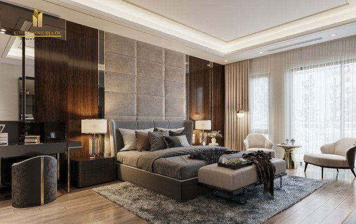 thiết kế phòng ngủ nội thất sang trọng