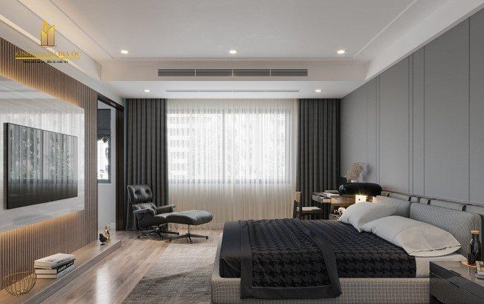 thiết kế phòng ngủ sang trọng và đẳng cấp