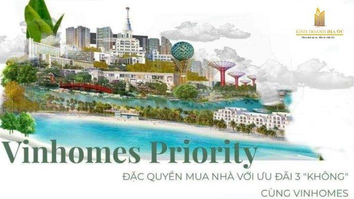 vinhomes priority - chính sách mua nhà