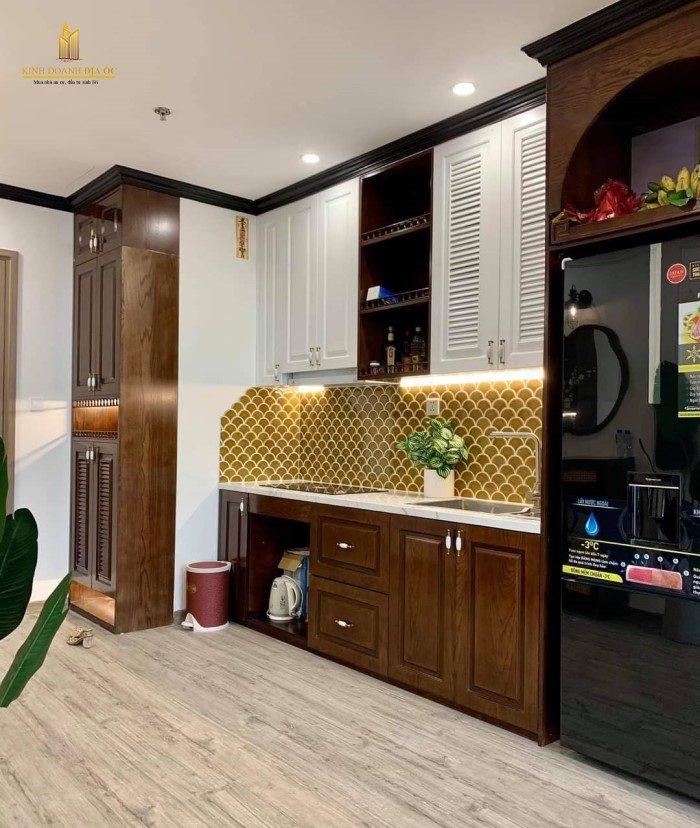 thiết kế căn hộ nội thất phong cách đông dương