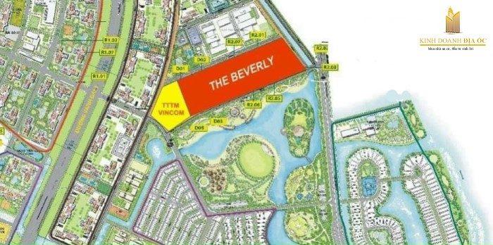 vị trí the beverly vinhomes grand park quận 9
