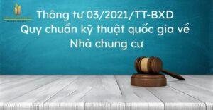 Thông Tư 03/2021 BXD Quy Định Diện Tích Căn Hộ Thương Mại Tối Thiểu 25m2