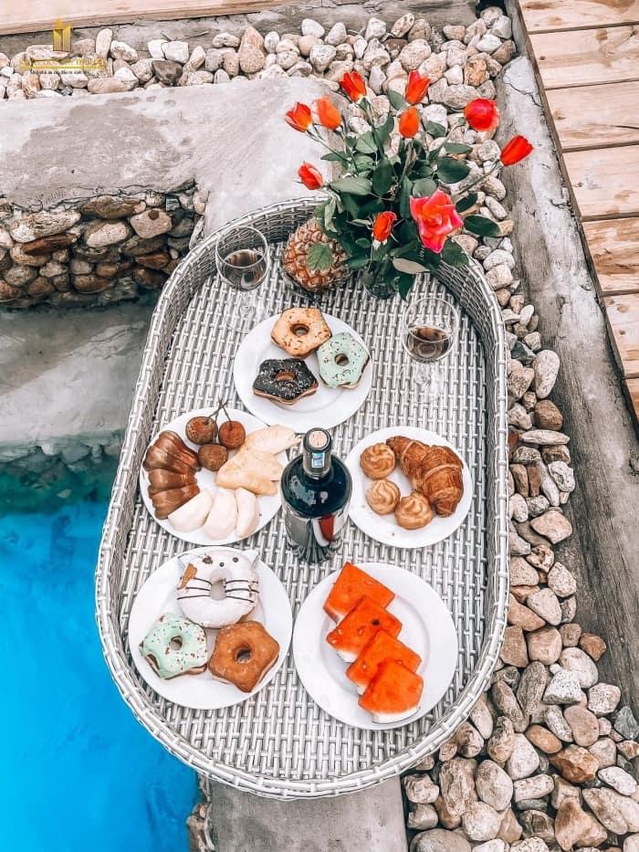 bể bơi secret garden vĩnh phúc